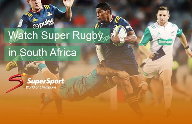 Super Rugby live stream in South Africa