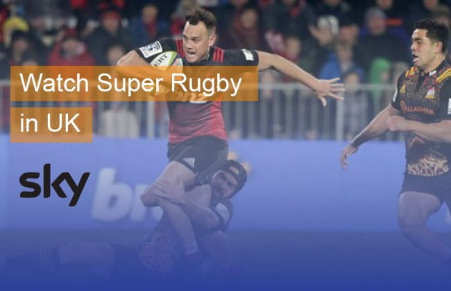 Watch Super Rugby live stream in the UK